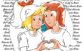 Malvorlagen | Bibi & Tina